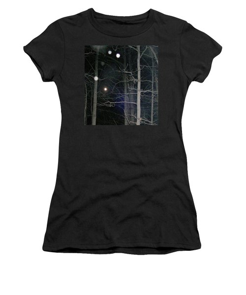 Women's T-Shirt (Junior Cut) featuring the photograph Peaceful Spirits Passing by Pamela Hyde Wilson