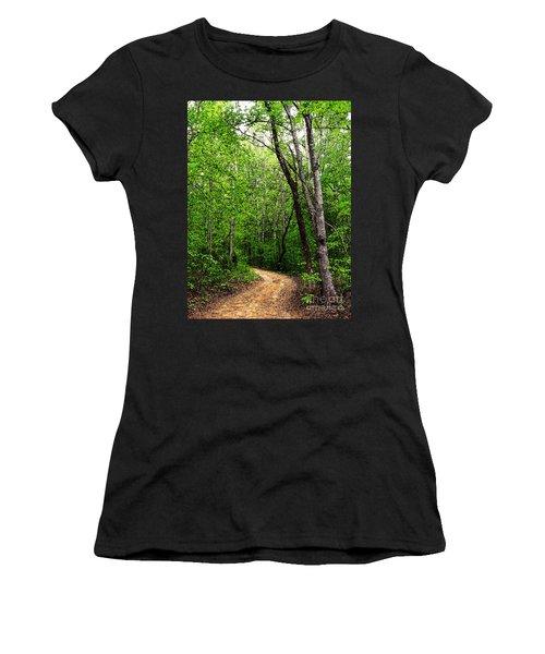 Peaceful Walk Women's T-Shirt (Athletic Fit)