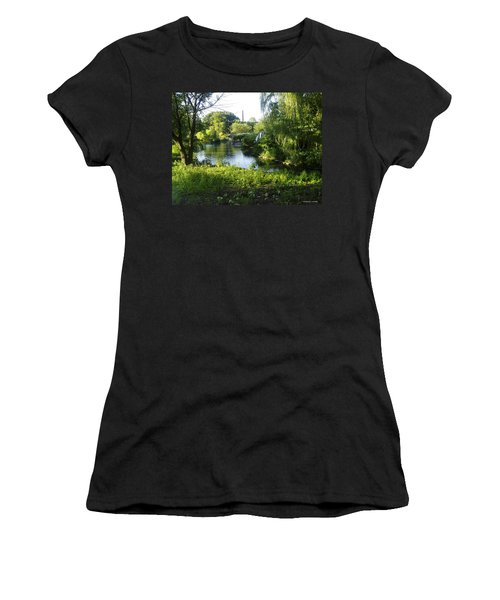 Peaceful Waters Women's T-Shirt (Junior Cut) by Verana Stark