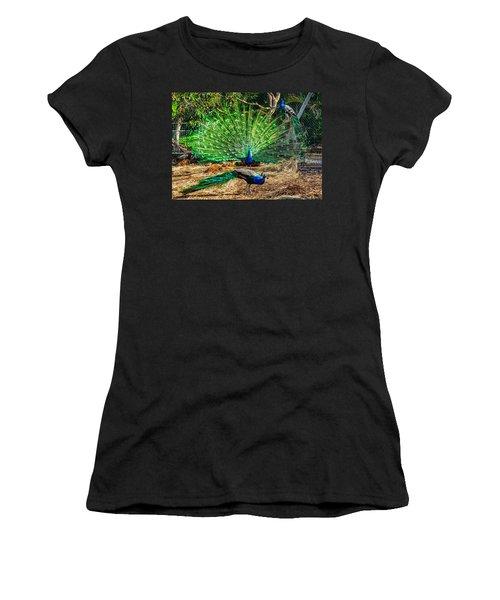 Peacocking Women's T-Shirt