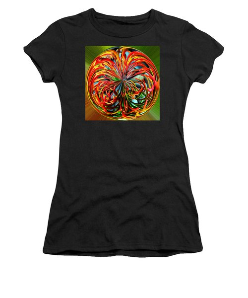 Pencil Tree Ball Women's T-Shirt (Athletic Fit)