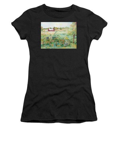 Pennsylvania Pasture Women's T-Shirt (Athletic Fit)