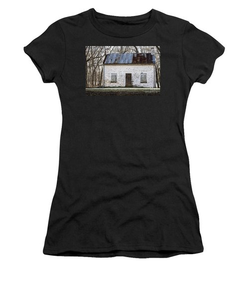 Pennyfield Lockhouse On The C And O Canal In Potomac Maryland Women's T-Shirt