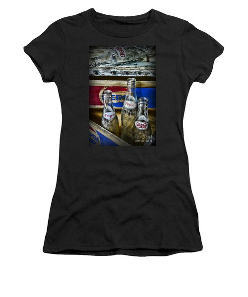 Pepsi Bottles And Crates Women's T-Shirt (Athletic Fit)