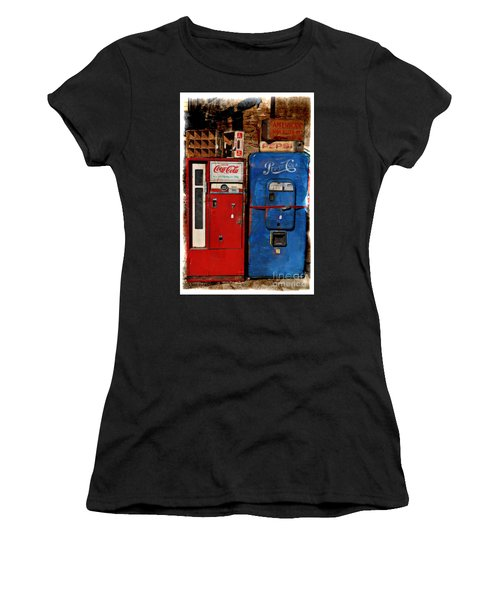 Pepsi Women's T-Shirt (Junior Cut) by Mary Machare