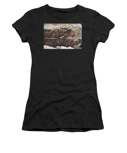 Petroglyph Bird Women's T-Shirt