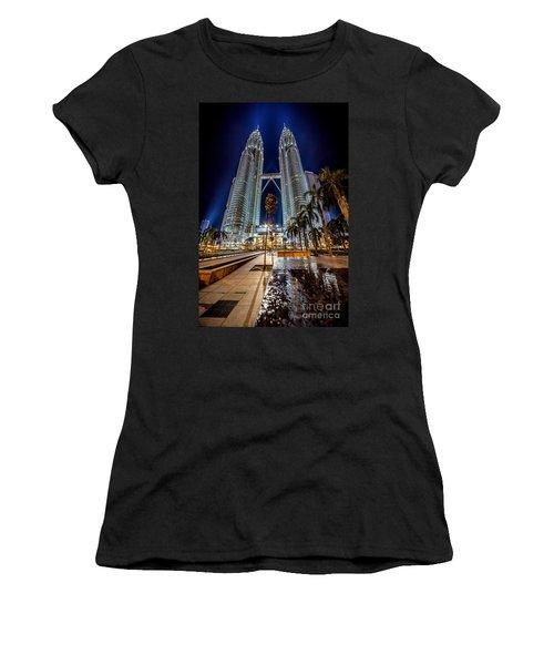 Petronas Twin Towers Women's T-Shirt