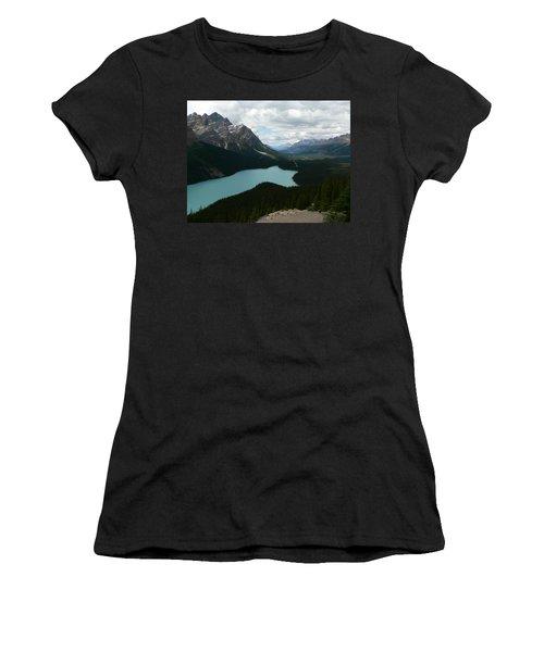 Peyote Lake In Banff Alberta Women's T-Shirt