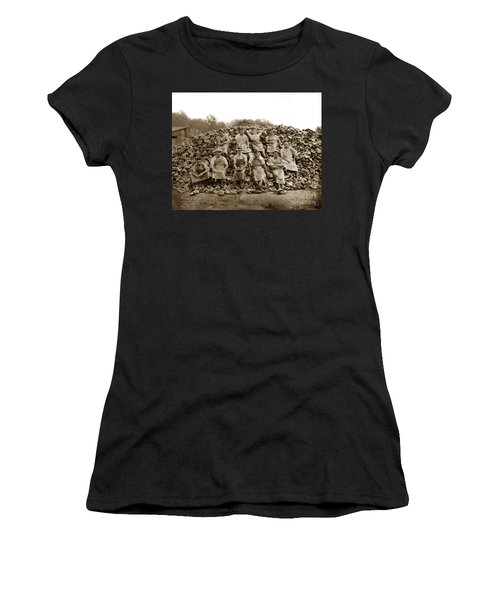 Pierce Brothers Abalone Morro Bay Circa 1925 Women's T-Shirt (Athletic Fit)