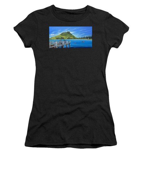 Pilot Bay Mt Maunganui 201214 Women's T-Shirt (Athletic Fit)