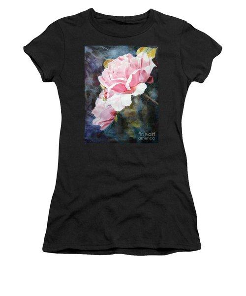 Pink Rose Caroline Women's T-Shirt