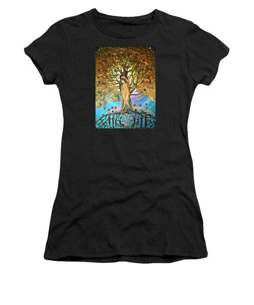 Pixie Forest Women's T-Shirt (Athletic Fit)