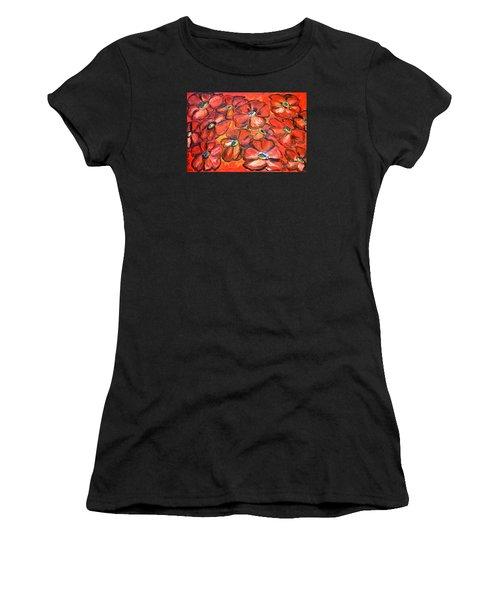 Plaisir Rouge Women's T-Shirt (Athletic Fit)