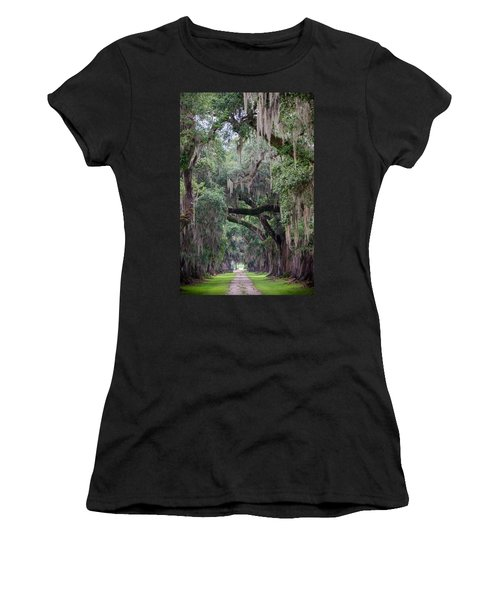 Plantation Path Women's T-Shirt (Athletic Fit)