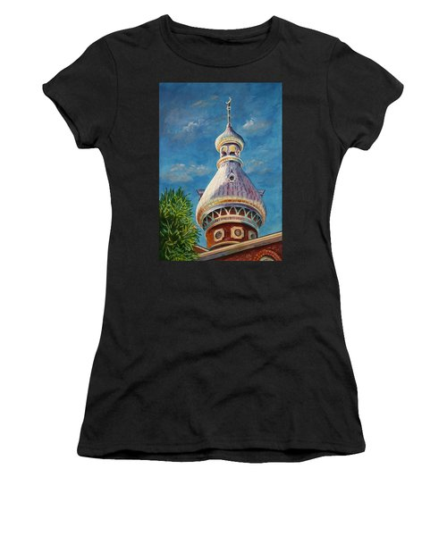 Play Of Light - University Of Tampa Women's T-Shirt (Athletic Fit)