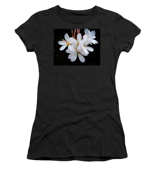 Plumeria Women's T-Shirt (Athletic Fit)