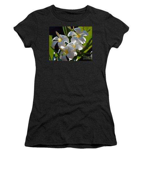 Women's T-Shirt (Junior Cut) featuring the photograph Plumeria's IIi by Robert Meanor