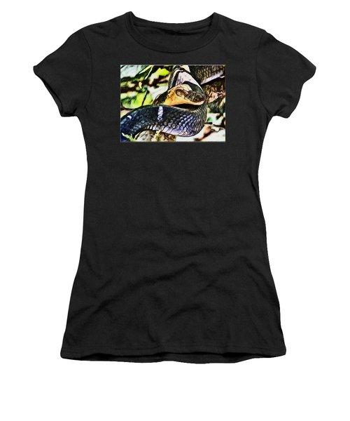 Poisonous Observance Women's T-Shirt (Athletic Fit)