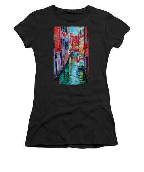 Ponte Raspi O Sansoni - Venice - Italy Women's T-Shirt (Athletic Fit)
