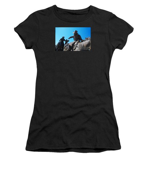 Pony Express Women's T-Shirt (Athletic Fit)