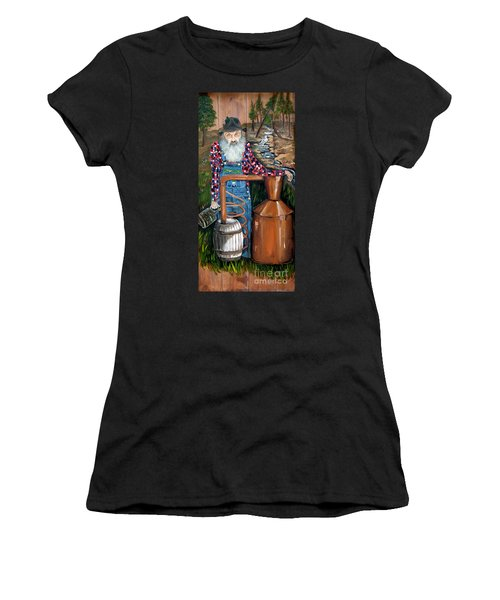 Popcorn Sutton - Moonshiner - Redneck Women's T-Shirt (Athletic Fit)