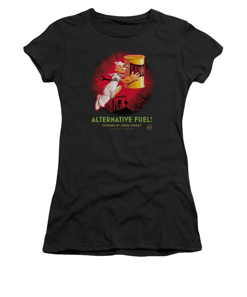 Popeye - Alternative Fuel Women's T-Shirt (Athletic Fit)