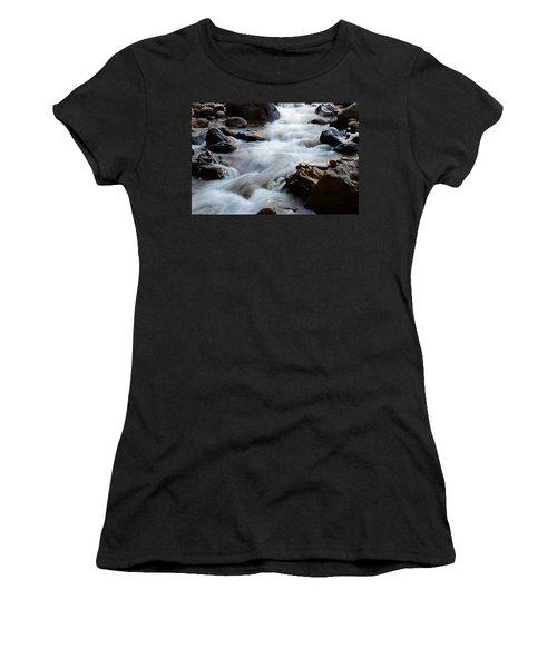 Popo Agie Flow Women's T-Shirt (Junior Cut) by Eric Nielsen