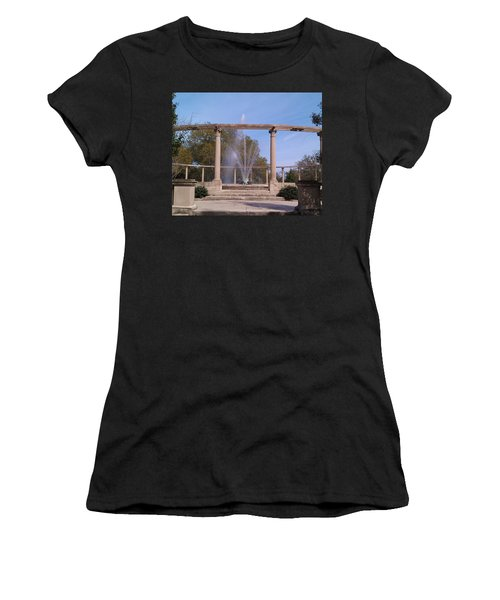 Popp Fountain New Orleans City Park Women's T-Shirt (Athletic Fit)