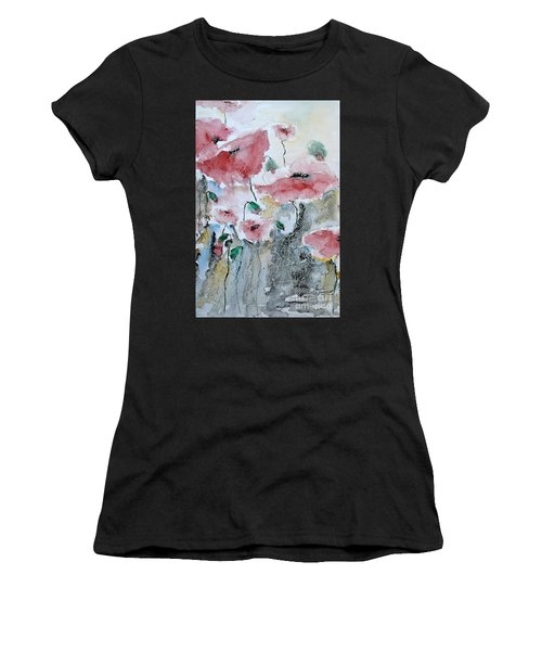 Poppies 01 Women's T-Shirt (Athletic Fit)