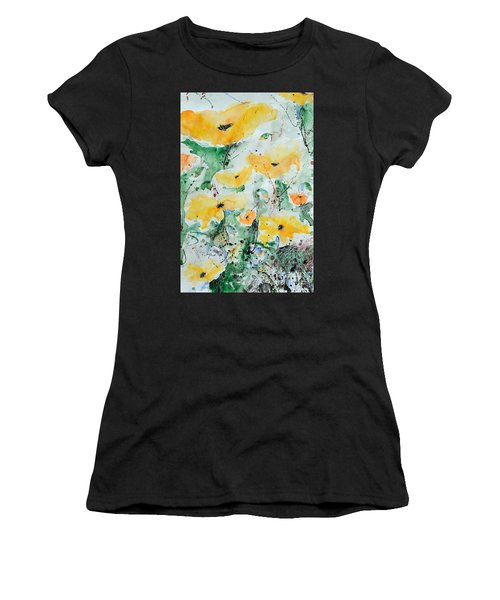 Poppies 07 Women's T-Shirt (Athletic Fit)