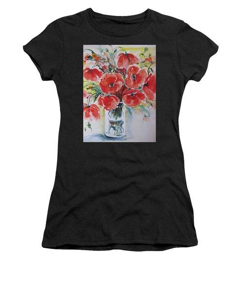 Poppies Iv Women's T-Shirt
