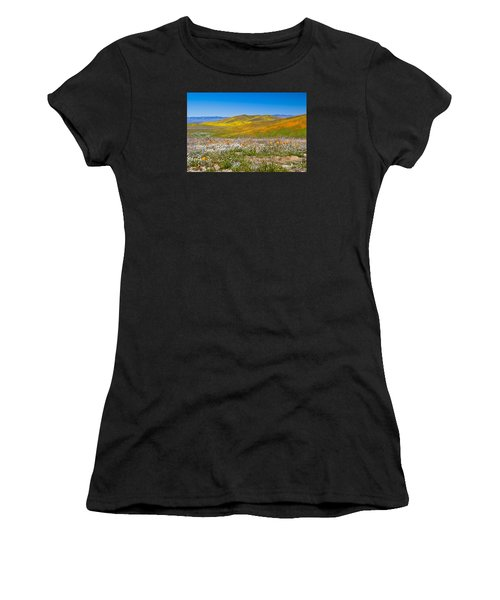 Poppy Fields Women's T-Shirt (Athletic Fit)