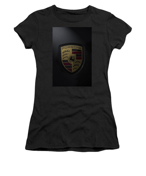 Porsche Logo Women's T-Shirt (Athletic Fit)