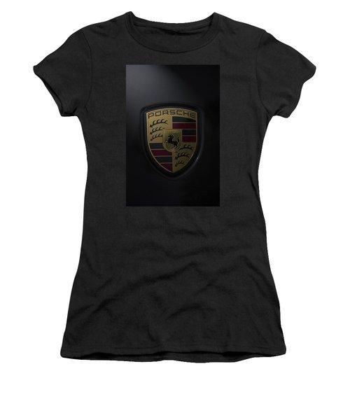 Porsche Logo Women's T-Shirt (Athletic Fit)