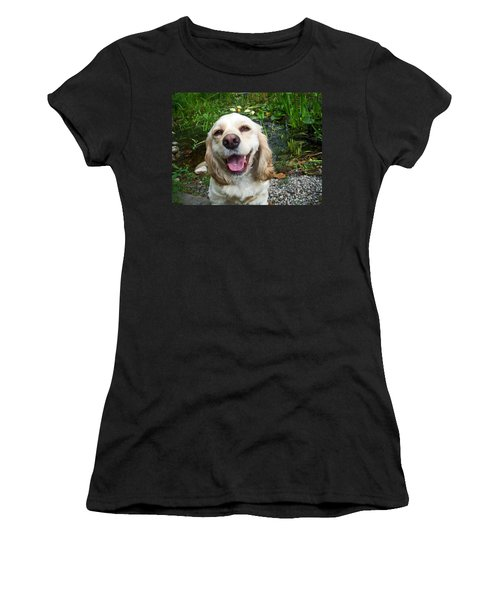 Women's T-Shirt (Junior Cut) featuring the photograph Porshe' by Aimee L Maher Photography and Art Visit ALMGallerydotcom