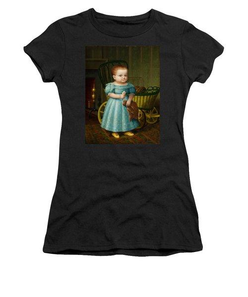 Portrait Of Sally Puffer Sanderson Women's T-Shirt (Athletic Fit)