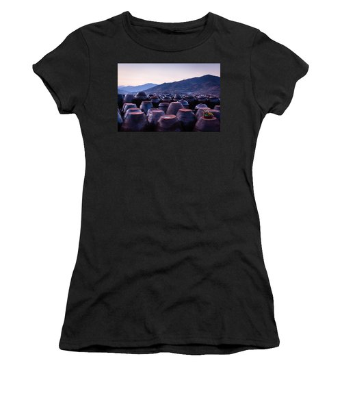 Pots Of Plum Women's T-Shirt (Athletic Fit)