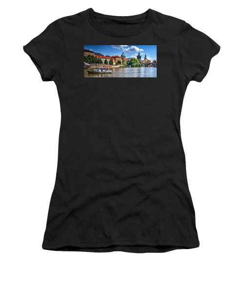 Women's T-Shirt (Junior Cut) featuring the photograph Prague by Joe  Ng