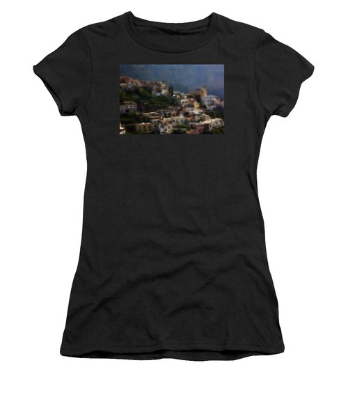 Praiano Amalfi Coast Women's T-Shirt (Athletic Fit)