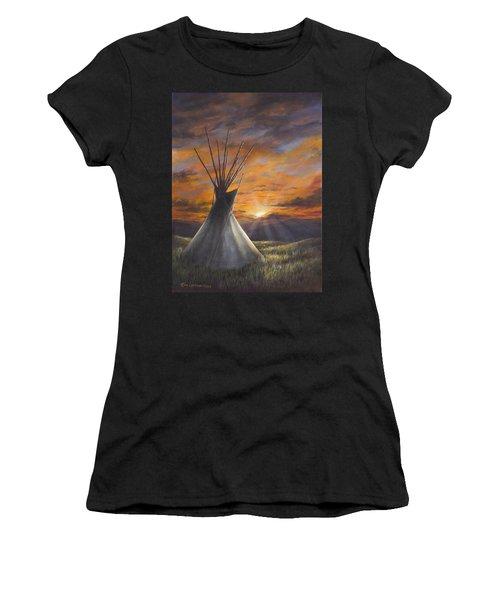 Prairie Sunset Women's T-Shirt