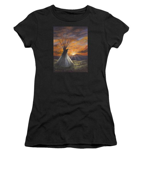 Prairie Sunset Women's T-Shirt