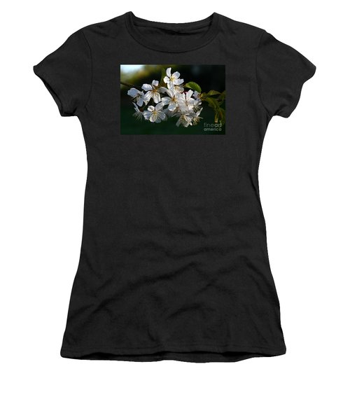 Pretty Flowers Women's T-Shirt (Athletic Fit)
