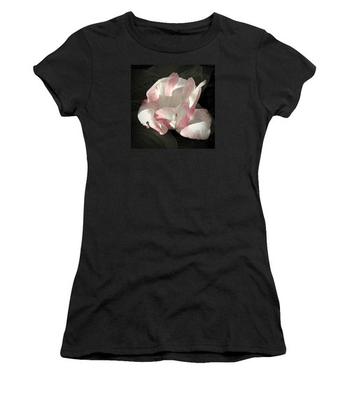 Women's T-Shirt (Junior Cut) featuring the photograph Pretty In Pink by Photographic Arts And Design Studio