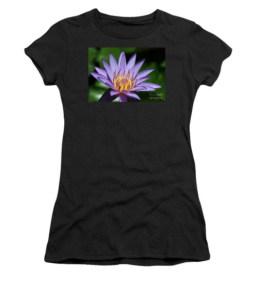 Pretty Purple Petals Women's T-Shirt
