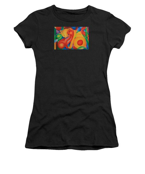 Primary Cats Women's T-Shirt (Athletic Fit)