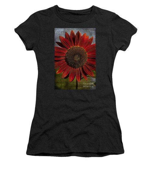 Primitive Sunflower 2 Women's T-Shirt (Athletic Fit)