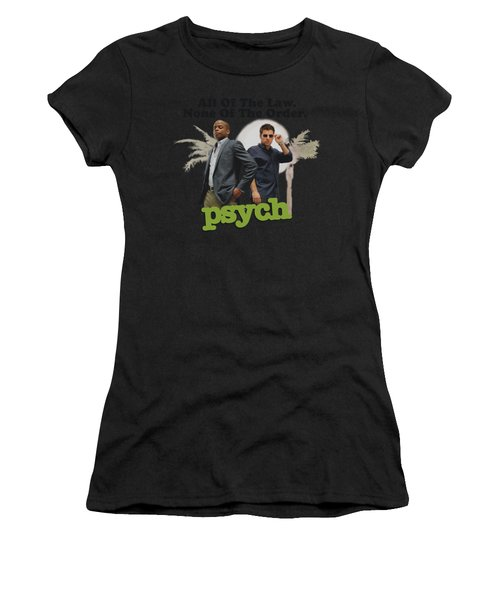 Psych - Palm Trees Women's T-Shirt