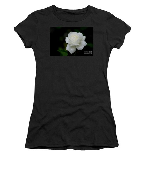 Pure Heaven Women's T-Shirt (Junior Cut) by Living Color Photography Lorraine Lynch