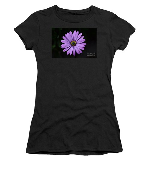Purple African Daisy Women's T-Shirt