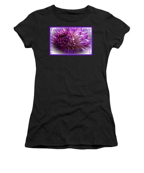 Purple Awareness Support Women's T-Shirt
